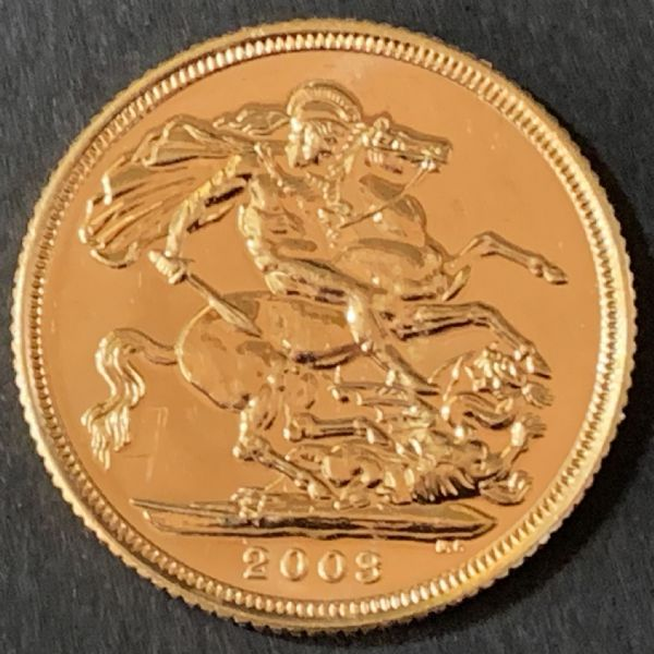 2003 Gold Sovereign